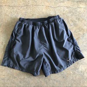"Nike running 5"" Dri Fit lined shorts"